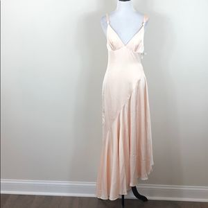 Fame And Partners Dress Zephyra Champagne Maxi
